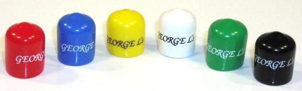 Capuchons coudés pour fiches George L's